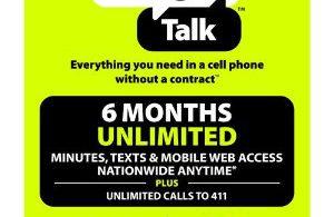 Straight Talk Cell Phone Refill Card