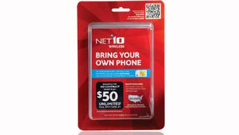 Net 10 SIM Card Activation Pack for AT&T and T-Mobile